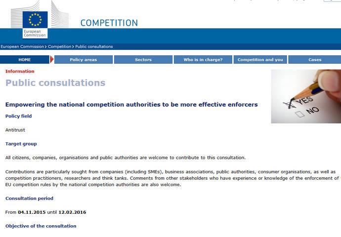 Bruselas se plantea reforzar los órganos de competencia
