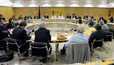 Reyes Maroto ha presidido el pleno del Consejo Español de Turismo.