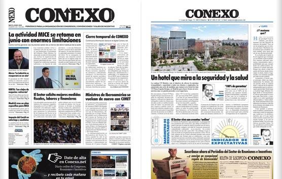 Lea la edición del mes de Mayo del Periódico CONEXO en pdf