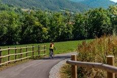 La Generalitat está impulsando el cicloturismo en Cataluña.
