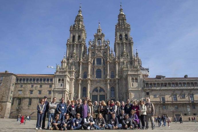 Parte de los asistentes al 32 Congreso Nacional de OPC, en Santiago de Compostela.