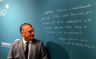 Javier Carnero reitera el Palacio de Córdoba para junio