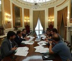 La reunión de la Comisión de Seguimiento del convenio entre el Patronato Provincial de Turismo de Cádiz y Turismo Andaluz.