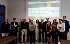 La reunión de los empresarios de Córdoba.