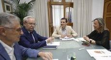 La reunión se ha celebrado en el Ayuntamiento de Córdoba.