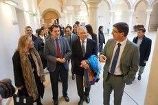 Visita de Juan Marín al Palacio de Congresos de Córdoba.