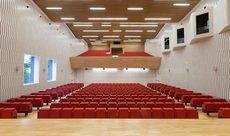 El auditorio del Palacio de Congresos.