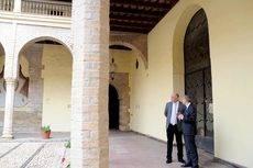 La visita del presidente de la Diputación de Córdoba al Palacio de Congresos.