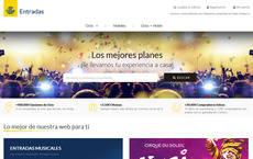 Página web entradas.correos.es.