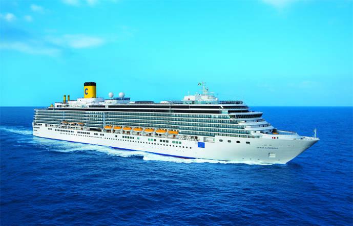 Comienza 'La vuelta al mundo' de Costa Cruceros