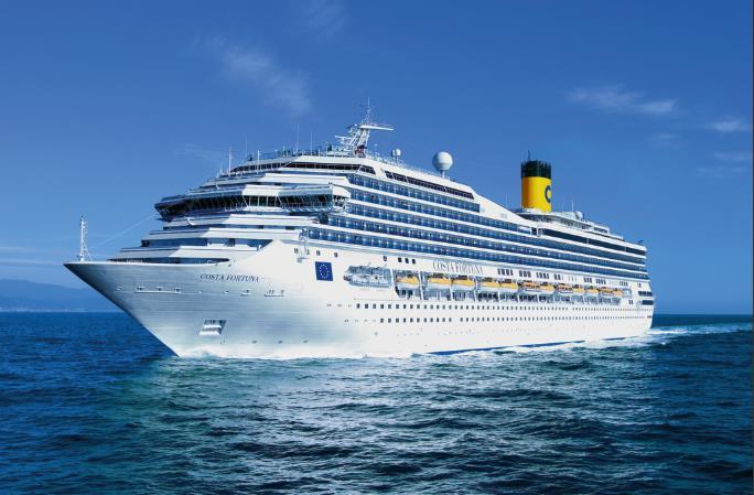 El Costa Fortuna renueva su imagen en su retorno a Europa