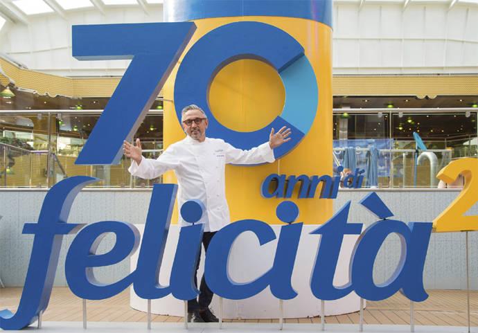 Costa celebra su 70 aniversario con los mejores clientes