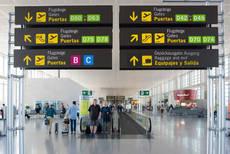 Las llegadas de aeropuertos internacionales cayeron un 99,7% en abril.