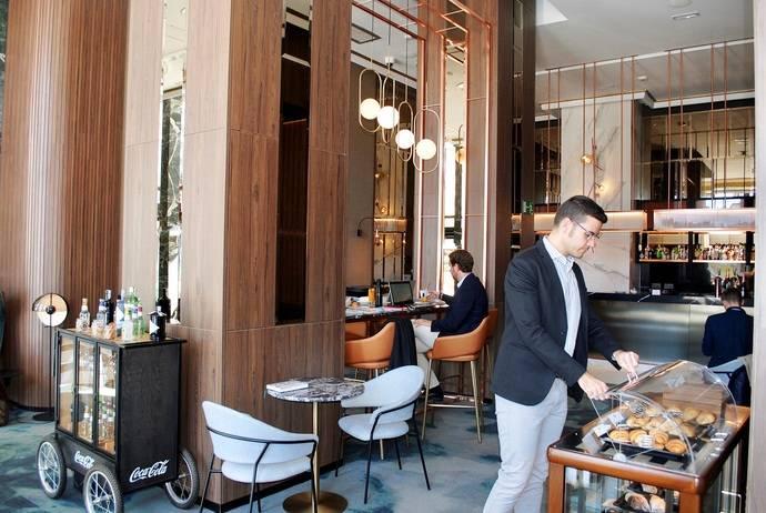 El hotel Riu Plaza España presenta sus espacios 'coworking'