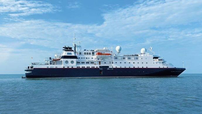 El buque marítimo La Belle des Océans.