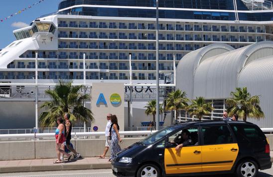 El Turismo de cruceros se dispara un 16% en julio