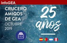 GEA culmina a lo grande los actos por su 25 aniversario