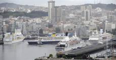 España roza la cifra de ocho millones de cruceristas