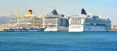 En 2017 se rozó la cifra de 9,3 millones de pasajeros de cruceros.