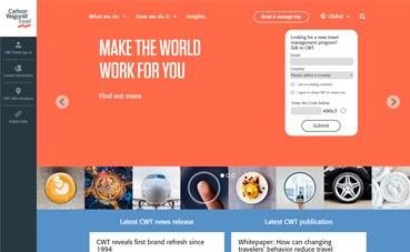 CWT modifica su imagen de marca con nuevo logo