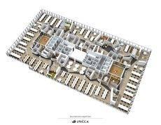 La distribución de los espacios en la nueva sede de CWT en Madrid.