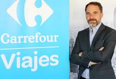 El director de Viajes Carrefour, David Villarino.