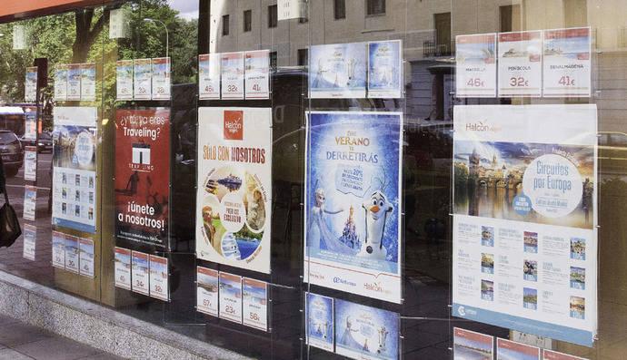Las agencias, entre las cuatro ramas del sector servicios que más crecen en ventas