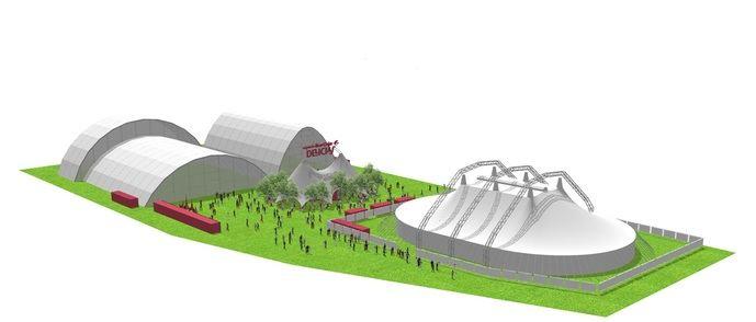 El nuevo espacio de eventos en Madrid, en Delicias