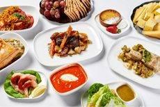 Delta ofrece una amplia variedad de comidas a bordo.