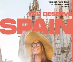 TurEspaña presenta la campaña 'You deserve Spain'