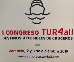 Valencia, sede del Congreso de Destinos Accesibles de Cruceros