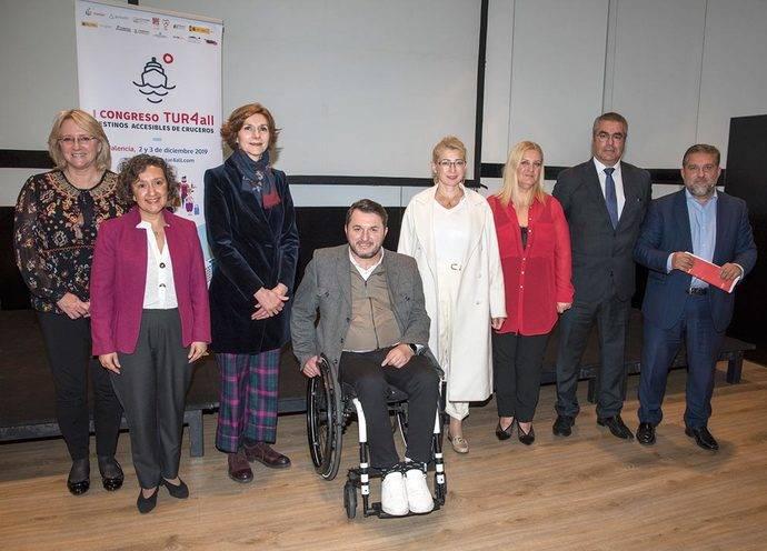 La presentación del I Congreso Internacional TUR4all de Destinos Accesibles de Cruceros.