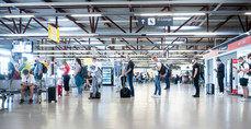 Quieren reducir el tiempo en el aeropuerto.