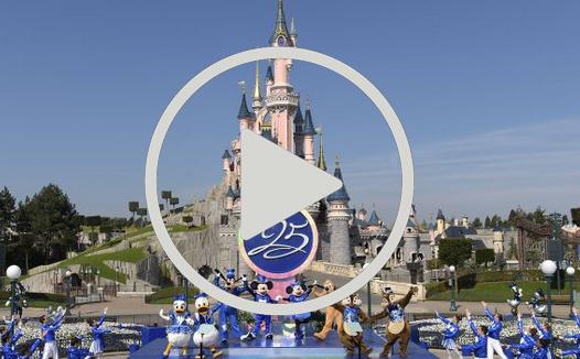 Arranca el 25 aniversario de Disneyland Paris