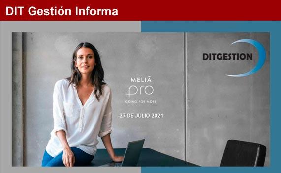 Meliá realiza un webinar para las agencias Dit Gestión