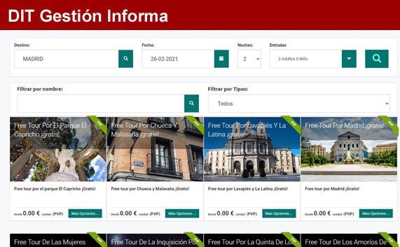 Nueva integración XLM de tickets B2B y b2c en Dit Gestión