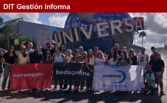 Fam trip de DIT Gestión a Universal Orlando y Miami