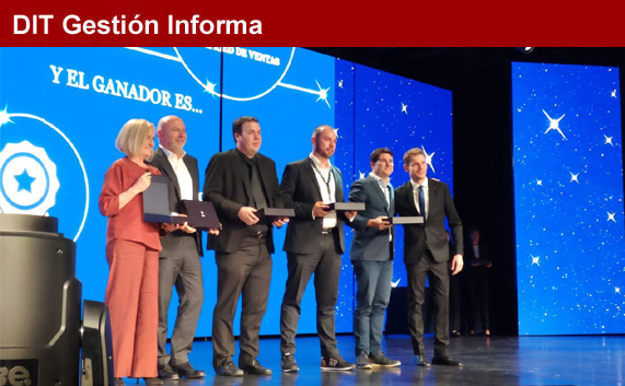 Nominaciones en los premios de MSC para DIT Gestión