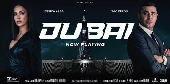 Nueva campaña turística de Dubai, con Jessica Alba y Zac Efron