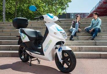 eCooltra amplía su oferta de 'motosharing' en Madrid
