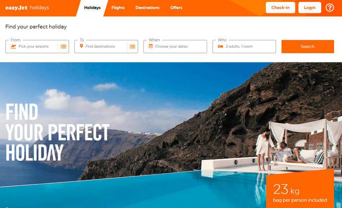La plataforma EasyJet Holidays ya está operativa