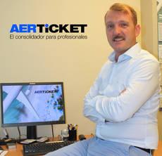 El director general de Aerticket España, Stephan Ebert.