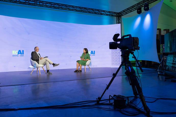 ECAI2020, con 3.500 científicos, estrena el estudio virtual Galicia MICE