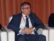 El presidente de ECTAA, Pawel Niewiadomski, en la Cumbre de CEAV.