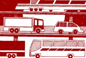 <em>El transporte por carretera, con el medioambiente</em>