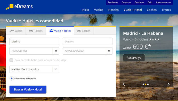 Ryanair asegura que eDreams 'continúa engañando a los clientes' ofertando precios 'artificialmente bajos'