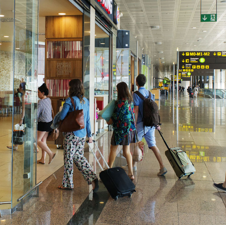 El gasto medio por turista cae un 7% en el inicio de año