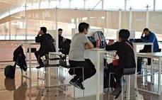 El Prat amplía las zonas de trabajo para los pasajeros