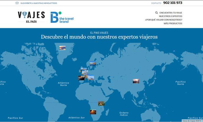 El grupo Prisa relanza el 'portal' de viajes de El País