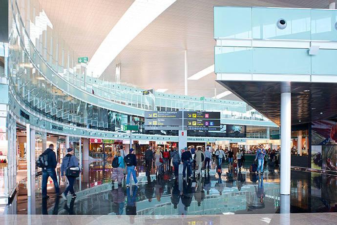 Barajas y El Prat acaparan el 46% de los pasajeros aéreos